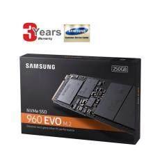 250 GB SSD (เอสเอสดี) SAMSUNG 960 EVO M.2 (MZ-V6E250BW) 3 YEARS WARRANTY