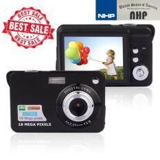 กล้องถ่ายรูป  กล้องถ่ายวีดีโอ 2.7'' TFT LCD HD 720P 18MP Digital Camcorder Camera 8x Zoom Anti-shake Black