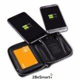 ขาย 2Besmart กระเป๋านามบัตร กระเป๋าสตางค์ แบตสำรอง ชาร์จมือถือได้ Smart Power Bank ขนาด 4000 Mah ถูก