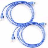 ทบทวน 2Pcs 1 5M 5Ft Cat5 E Rj45 Ethernet Network Router Modem Patch Cable Intl