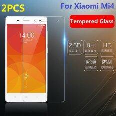 ขาย 2Pcs 2 5D 9H Premium Tempered Glass Front Film Protector For Xiaomi Mi4 5 Intl ราคาถูกที่สุด