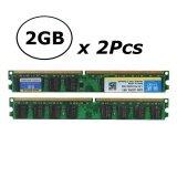 ขาย 2Pcs 2Gb Pc2 5300 Ddr2 667 Mhz 240Pin Desktop Memory Ram For Amd Cpu Intl เป็นต้นฉบับ