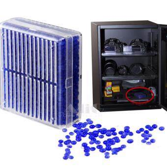 2 ชิ้น Reusable ซิลิกาเจลสารดูดความชื้นความชื้นดูดซับกล่องเลนส์กล้อง Dessicant Mouldproof ผ้าไหมชุดทำความสะอาดอุปกรณ์เสริม