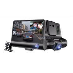 กล้องติดรถยนต์ 3 IN 1จอ 4นิ้ว รุ่น H36 HD NIGHT VISION 3 เลนส์