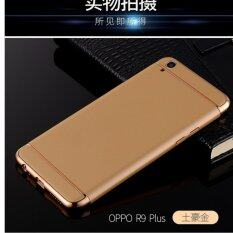 3 in 1 Fashion Thin Electroplate Hard Case For Oppo A37 (Black)THB240 ·