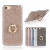 3 In 1 Multifunction Metal Buckle Ring Tpu Phone Cover Case For Oppo A71 Gold Intl ถูก