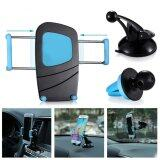 ซื้อ 3 In1 360° Car Air Vent Windshield Mount Holder Bracket For Mobile Cell Phone Gps Intl Unbranded Generic