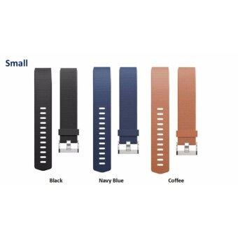 3 ชิ้นชุด สายรัดข้อมือสายรัดสายนาฬิกาสำหรับ Fitbit Charge 2-นานาชาติ