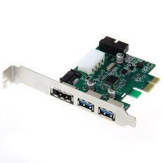 ซื้อ 3 Port Usb 3 Esata Pci Express Adapter Controller Card