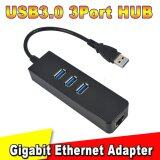 ซื้อ 3 Port Usb 3 Hub 10 100 1000 Mbps To Rj45 Gigabit Ethernet Lan Wired Network Adapter For Windows Mac Int L ใน จีน
