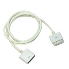 ขาย ซื้อ 30 Pin Dock Connector 1 เมตรขยายสายเคเบิลข้อมูลสำหรับ Iphone 4 4 วินาที Ipad สีขาว สนามบินนานาชาติ
