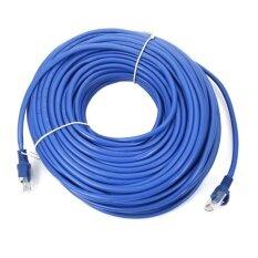 สายแลนสำเร็จรูปพร้อมใช้งาน ยาว 30 เมตร Utp Cable Cat5E 30M Blue ใหม่ล่าสุด