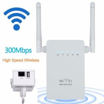 อุปกรณ์ขยายสัญญาณไวไฟ 300Mbps Wifi Repeater