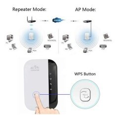 ขาย 300 Mbps Wireless N Wifi Repeater Ap Router Range Extender Booster 802 11 Elecool เป็นต้นฉบับ