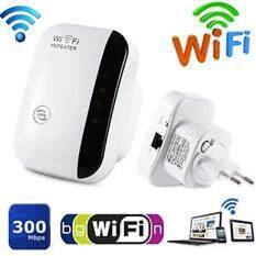 ขาย 300Mbps Wireless N Wifi Repeater Ap Router Range Signal Extender Booster 802 11 ตัวขยายสัญญาณ Wifi ถูก