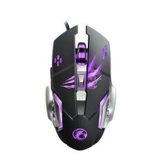 3200Dpi Macro Programming Adjustable Dpi Wired Usb Gaming Mouse With Led Intl จีน