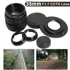 ทบทวน 35มมเลนส์กล้อง Cctv F1 7 C เพื่อจิ๋ว 4 3 จุดสำหรับ E P2 E P3 E Pl3 E Pl5 กล้อง Intl Xcsource