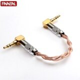 ทบทวน 3 5Mm Male To 3 5Mm Male 12 3 Cores 6N Ofc Flat Braided Stereo Audio Cable For Headphone Amplifier Dap Dac Ipod Mp3 Intl