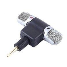 โปรโมชั่น 3 5Mm Mini Mic Digital Stereo Microphone Professional Handheld External Wireless Microphone Recording For Dji Osmo Intl Sunnylife