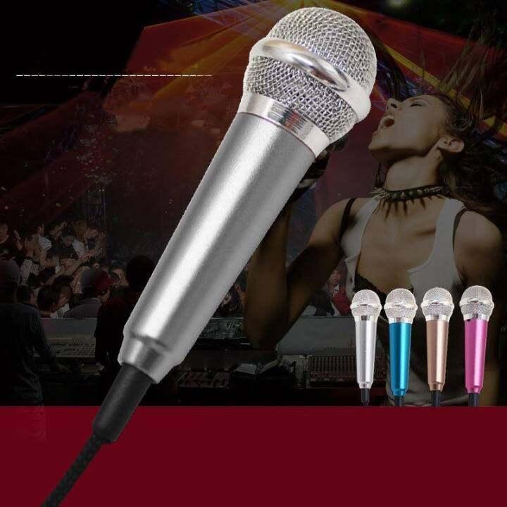 รีวิว 3.5mm Mini Stereo Studio Speech Mic Audio Microphone For Phone Smart Phone – intl