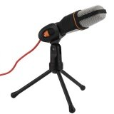 ซื้อ 3 5Mm Stereo Studio Computer Condenser Microphone Mic W Tripod For Skype Msn Pc Laptop Black Intl Unbranded Generic ออนไลน์