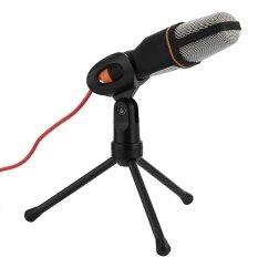 ราคา 3 5Mm Stereo Studio Computer Condenser Microphone Mic W Tripod For Skype Msn Pc Laptop Black Intl ใหม่ ถูก
