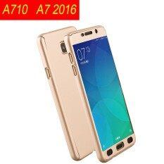 ส่วนลด 360 Degree Full Body Coverage Pc Hard Case With Glass Screen Film For Samsung Galaxy A7 2016 A710 Intl Unbranded Generic ใน ฮ่องกง