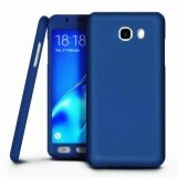 360 Degree Full Body Hard Pc Protective Back Case With Tempered Glass For Samsung Galaxy A7 2016 A710 Blue Intl เป็นต้นฉบับ