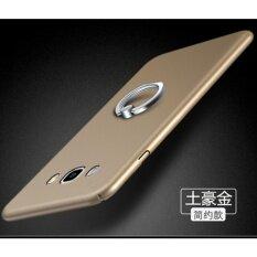 โปรโมชั่น 360 Degrees Ultra Thin Pc Metal Ring Hard Case Phone Case For Samsung Galaxy A5 2015 A5000 A5009 Royal Gold Intl ถูก