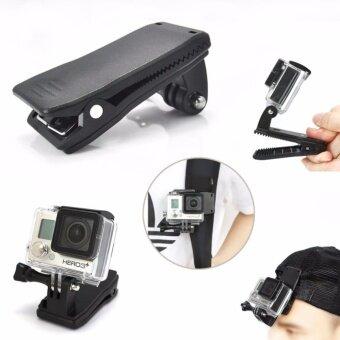 360 Gopro Bag Clip ที่หนีบยึดกล้องโกโปร หมุนได้ 360 องศา Action Camera SJCam Xiaomi Yi