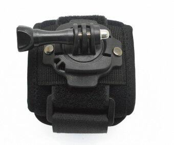 สายรัดข้อมือสำหรับติดกล้อง ปรับหมุนได้360องศา สำหรับกล้อง GoproSJ4000 sj5000 XIAOMI