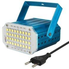 ขาย 36X 5050 White Led 10W Mini Stage Room Light Dj Strobe Flash Party Disco Bar Ktv Eu Intl ถูก ใน จีน