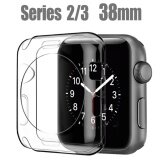 ซื้อ 【38Mm】I Watch Series 2 3 Case For Apple Ultra Thin Clear Soft Case For Apple Watch Series 2 3 38Mm Intl ใน จีน
