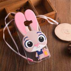 ส่วนลด 3D Judy Rabbit Soft Silicone Phone Case For Samsung Galaxy A8 Back Cover Pink Intl Unbranded Generic ใน จีน