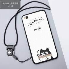 ส่วนลด 3D Relief Silica Gel Soft Phone Case For Xiaomi Redmi 4A With A Rope Multicolor