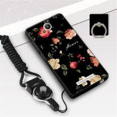 ราคา Silica Gel Soft Phone Case For Xiaomi Redmi Note 2 With A Ring And A Rope Multicolor เป็นต้นฉบับ
