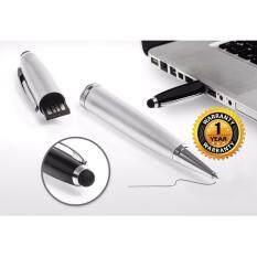 ซื้อ 3In1 Pen Flashdrive Stylus 16Gb พร้อมกล่องเหล็ก สีเงิน Unbranded Generic