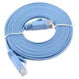 ซื้อ 3Meters Rj45 Cat6 Ethernet Network Flat Lan Cable Utp Patch Router Cables 1000M Intl จีน