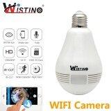 ซื้อ Wistino 3Mp Wireless Vr Panoramic Ip Camera Bulb Light Wifi Fisheye 360 Degree Cctv Surveillance Home Security Monitor Wistino Intl ใหม่ล่าสุด