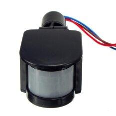 ราคา 3Pcs 180Degree 12V Human Infrared Sensor Switch Light Sensor Monitoring Spotlights Pir Switch Thailand