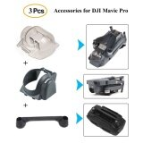 ส่วนลด 3Pcs Accessories Kits For Dji Mavic Pro Drone Sun Shade Lens Hood Gimbal Protective Cover Remote Joystick Holder Bracket Intl