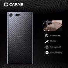 ขาย 3X Capas 3D Carbon Fiber For Sony Xz Premium Clear Back Protector Intl ราคาถูกที่สุด