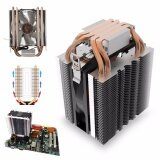 ขาย ซื้อ 4 Heat Pipe Cpu Cooler Cooling Heatsink For Intel Lga1150 1151 1155 775 1156 Amd Intl ใน จีน