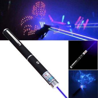 405nm 5 มิลลิวัตต์สีม่วงสีม่วงสีน้ำเงิน Ray สีน้ำเงินปากกาเลเซอร์พอยเตอร์