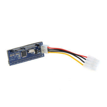 "40Pin Female IDE PATA to 7+15p 22pin SATA Male Adapter 3.5"" SATA-"