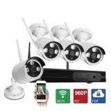ซื้อ ระบบกล้องวงจรปิดความปลอดภัย 4Ch 720P Hd ระบบเครือข่ายการเฝ้าระวังแบบไร้สาย Nvr ชุดกล้องวงจรปิด Cctv พร้อมกล้อง 960P 4Ch 720P Hd Wifi Security Camera System Wireless Video Surveillance Network Nvr Kits Cctv Ip Camera Equipment With 960P Camera ออนไลน์ จีน