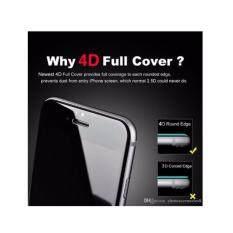 ขาย ฟิล์มกระจกเต็มจอ 4D สำหรับ Iphone7 สีขาว