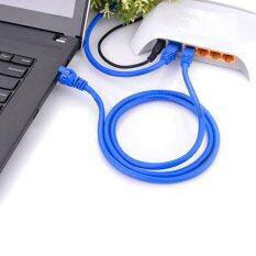 ราคา 4M Blue Rj45 For Cat5E For Cat5 Ethernet Cable Internet Network Patch Lan Cable Cord For Computer Laptop Intl ราคาถูกที่สุด