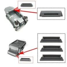 ซื้อ 4Pcs Dustproof Plug Cover For Drone Dji Mavic Pro Frame And Battery Case 1Pcs For Frame 3Pcs For Battery Gray Intl ถูก