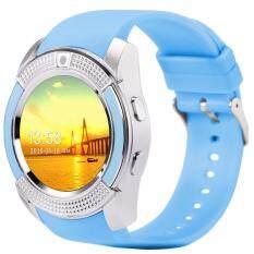 ขาย 4Sshop นาฬิกาSmart Watch รุ่น V8 สีฟ้า รองรับการใส่ซิม Mirco Sdมีเมนูภาษาไทย ออนไลน์ กรุงเทพมหานคร